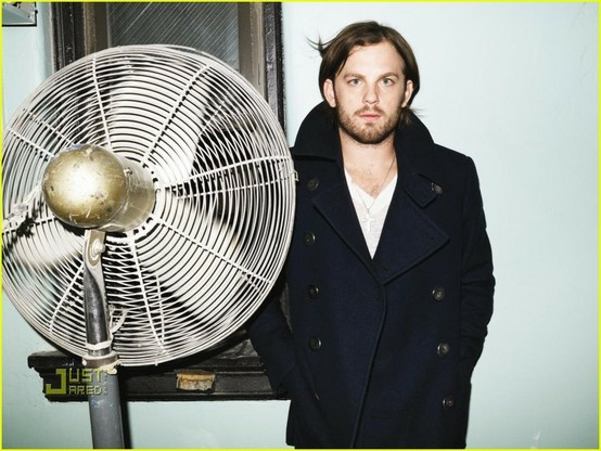 Caleb Followill with his biggest fan